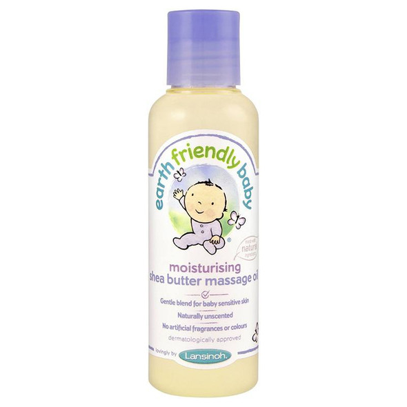 Earth Friendly Baby Moisturising Shea Massage Oil 125ml