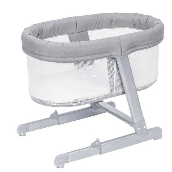 Babylo Snug Sleeper Gray Frame - Flint Grey fabric