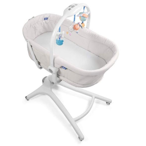 Chicco New Baby Hug 4-in-1 Mattress - White.cot