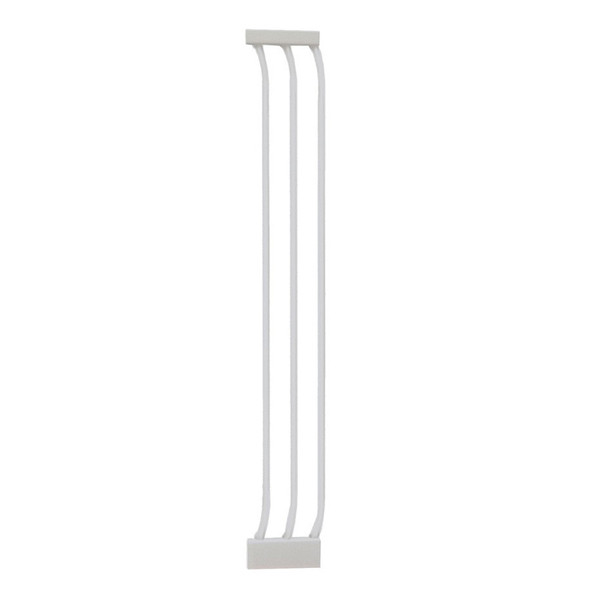 Dreambaby Chelsea 18cm Wide Gate Extension (White)
