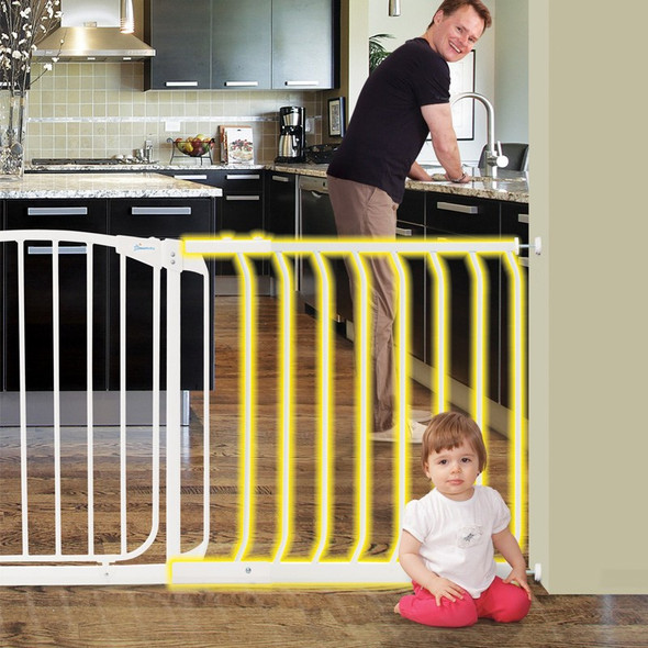 Dreambaby Chelsea 63cm Wide Gate Extension (White) live
