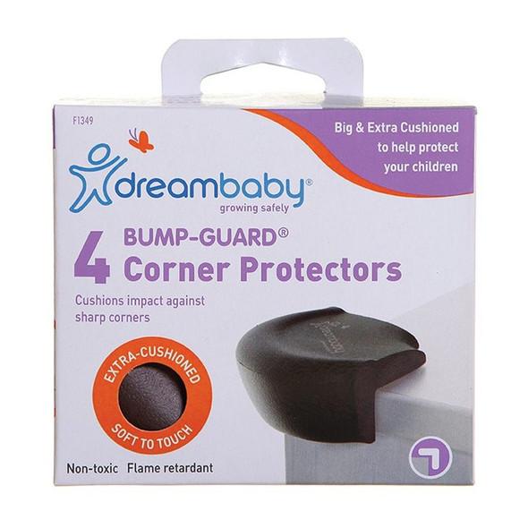 Dreambaby Bump-Guard® Corner Protectors 4 Pk - Brown box