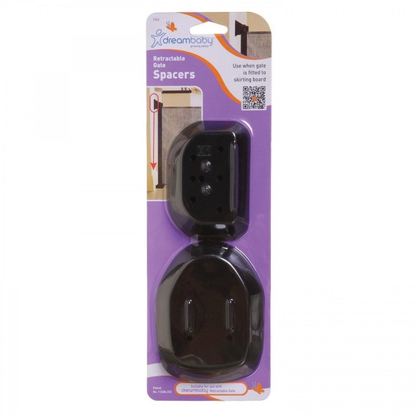 Dreambaby Retractable Gate Spacers - Black