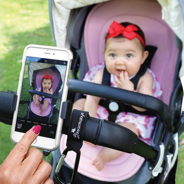 Dreambaby Stroller Buddy EZY-Fit Phone Holder Live