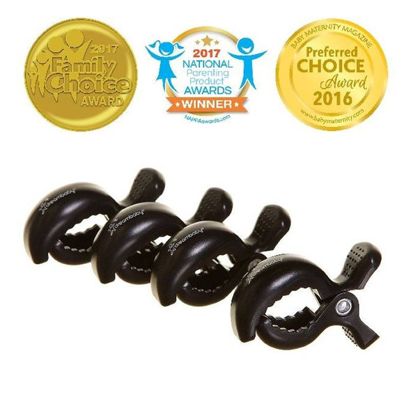 Dreambaby Stroller Buddy Stroller Clips - 4 Pack product