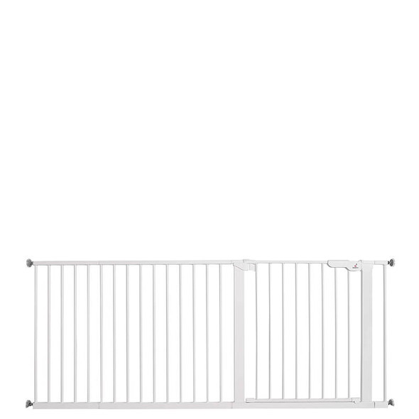 Babydan Premier Extra Wide Up To 182cm White