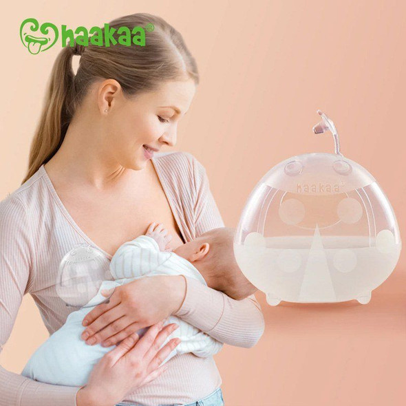 Haakaa Silicone Breast Milk Collector 75ml (1 Pk) image 4