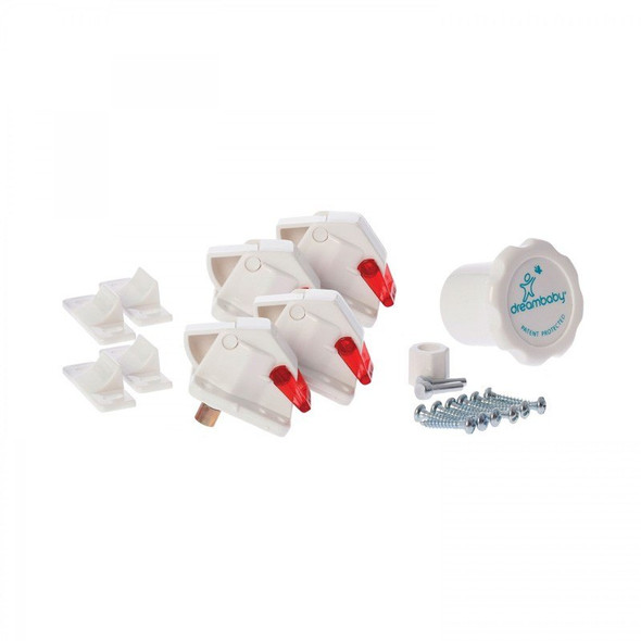 Dreambaby Magnetic Lock 4 Locks 1 Key product