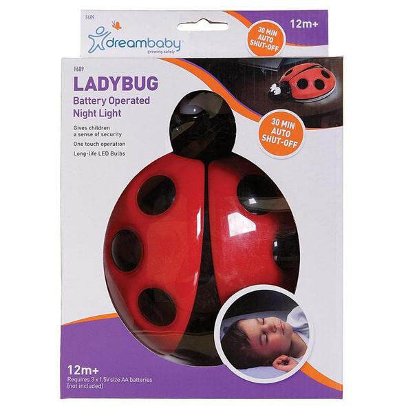 Dreambaby Ladybug Night Light (Battery Operated)