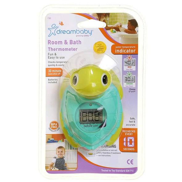 Dreambaby Digital Turtle Room & Bath Thermometer box