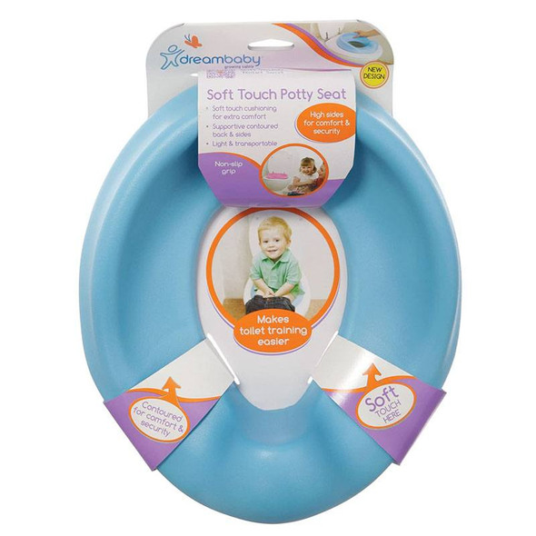 Dreambaby Foam Super Soft Feel Potty Seat - Blue