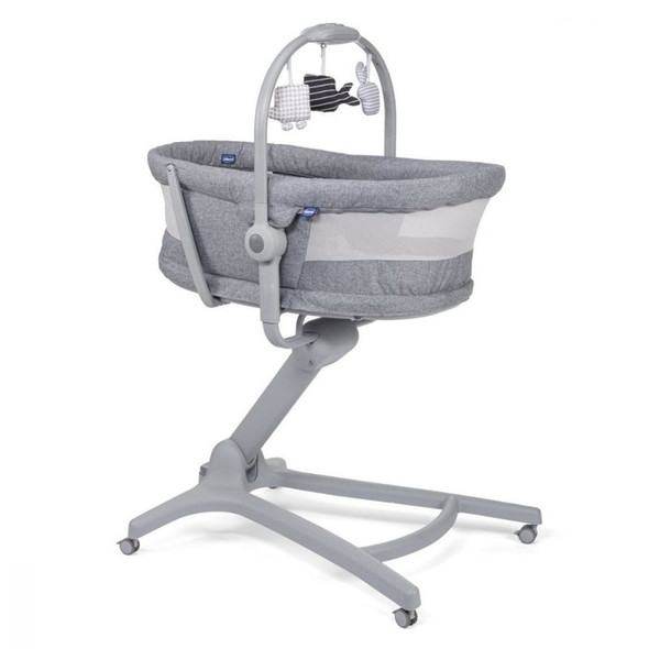 Chicco Baby Hug Air 4-In-1 Titanium crib