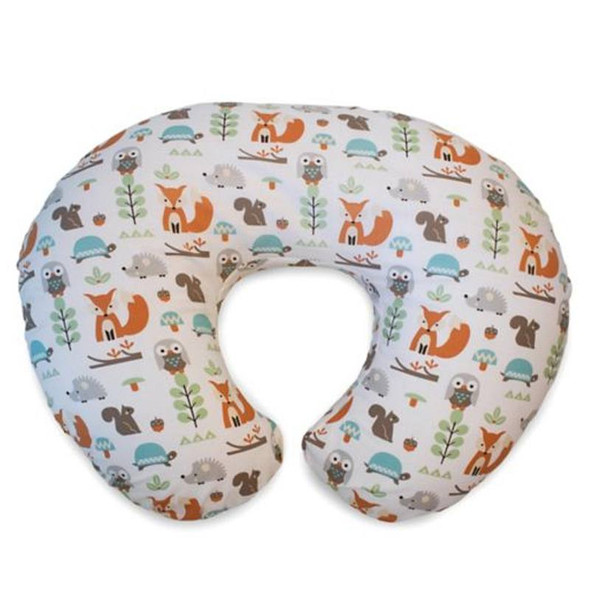 Boppy Pillow With Cotton Slipcover Modern Woodland product