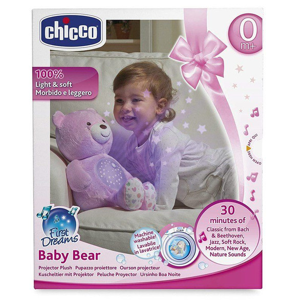 Chicco First Dreams Baby Bear Pink box