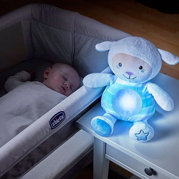 Chicco First Dreams Lullaby Sheep - Blue live