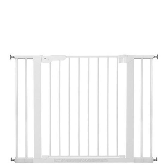 BabyDan Premier Pressure Indicator Gate, White (73.5cm - 105.6cm)