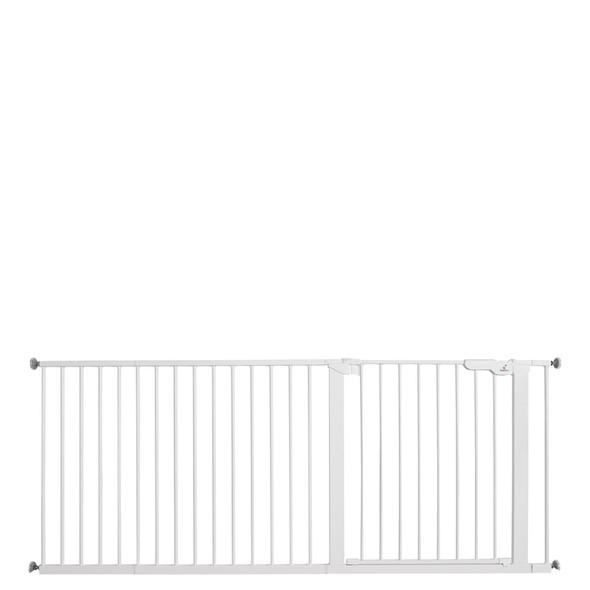 BabyDan Premier Pressure Indicator Gate, White (73.5cm - 182.5cm)