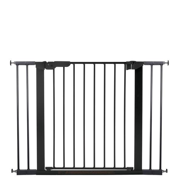 BabyDan Premier Pressure Indicator Gate, Black (73.5cm - 105.6cm)