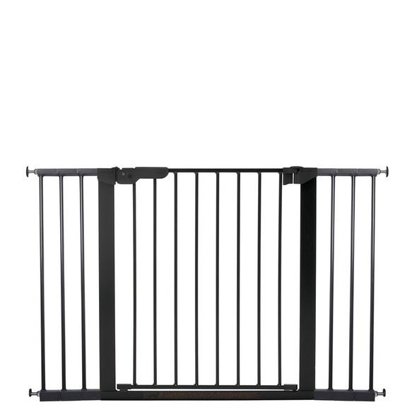 BabyDan Premier Pressure Indicator Gate, Black (73.5cm - 118.6cm)