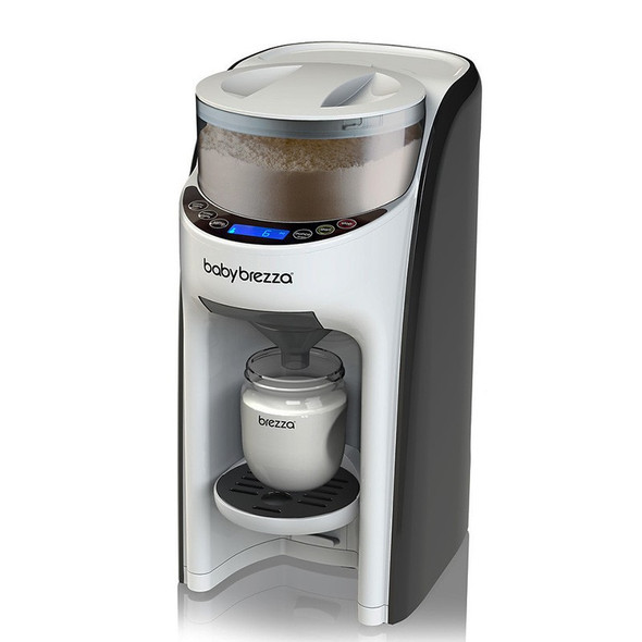 Baby Brezza Formula Pro Advanced Baby Formula Dispenser In Use