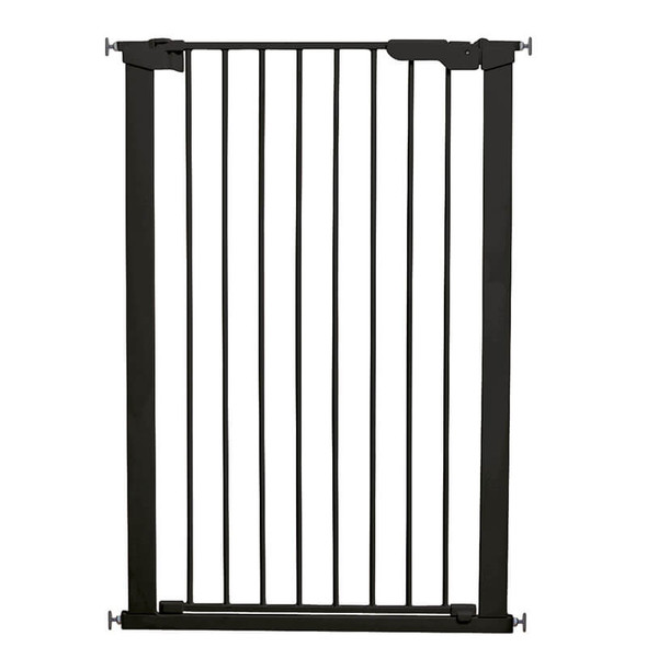 BabyDan Premier Pressure Pet Gate - Black (73-79.6cm; Max 120) gate