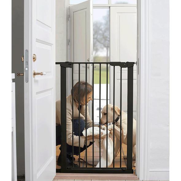 BabyDan Premier Pressure Pet Gate - Black (73-79.6cm; Max 120)