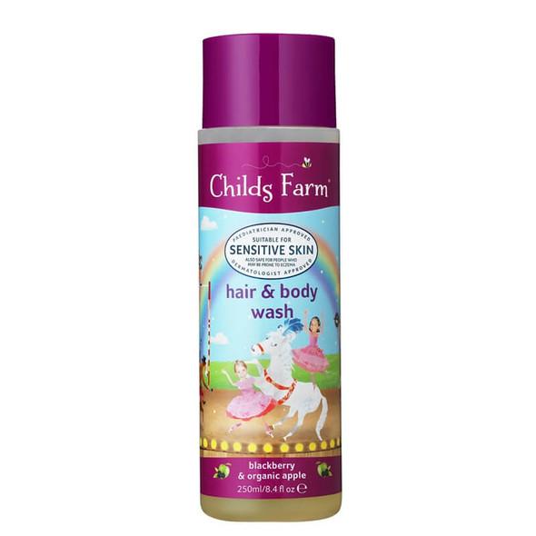 Childs Farm Hair & Body Wash - Blackberry & Apple 250ml