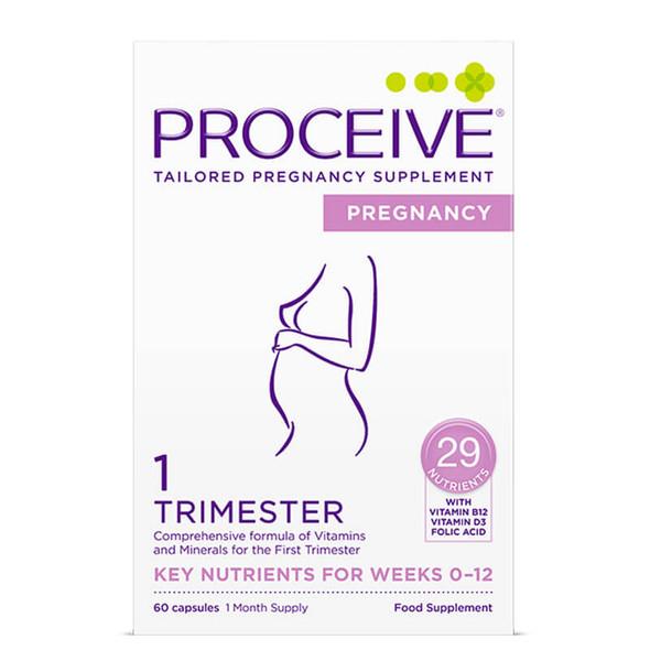 Proceive Pregnancy Trimester 1 - 60 Capsules