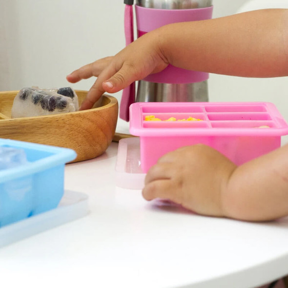 Haakaa Baby Food and Breast Milk Freezer Tray - 4 Compartments