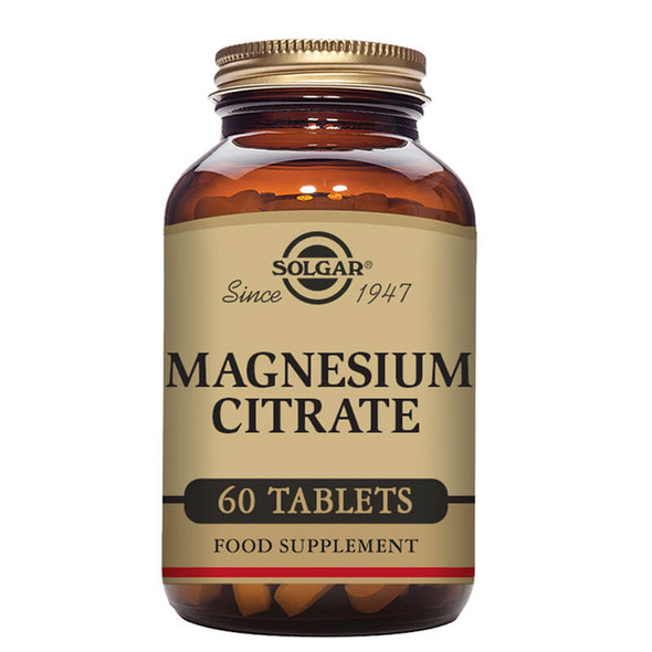 Solgar Magnesium Citrate - 60 Tablets
