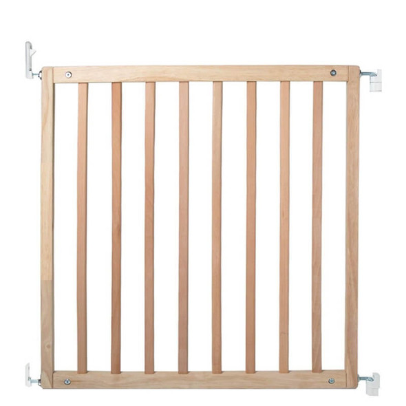Safetots Simply Secure Wooden Gate Natural 72cm- 79cm