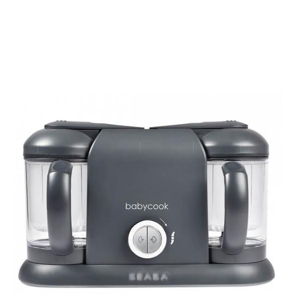 Beaba Babycook Duo Baby Food Steamer Blender - Dark Grey