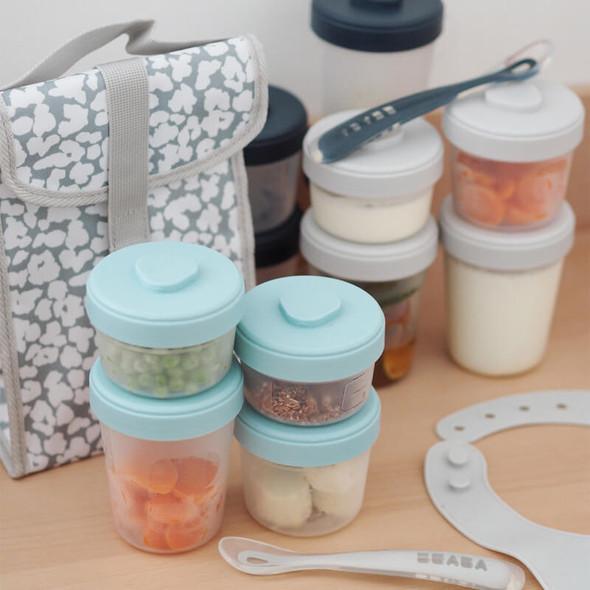 Beaba Baby Food Storage Starter Pack - Storm Live