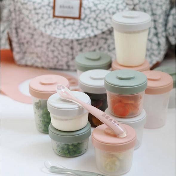 Beaba Baby Food Storage Starter Pack - Eucalyptus  Live
