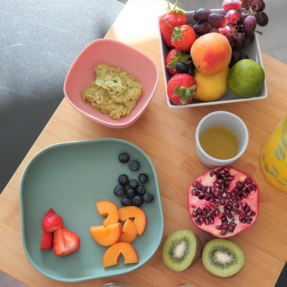 Beaba Silicone Meal Set (4 pcs) - Eucalyptus Live top