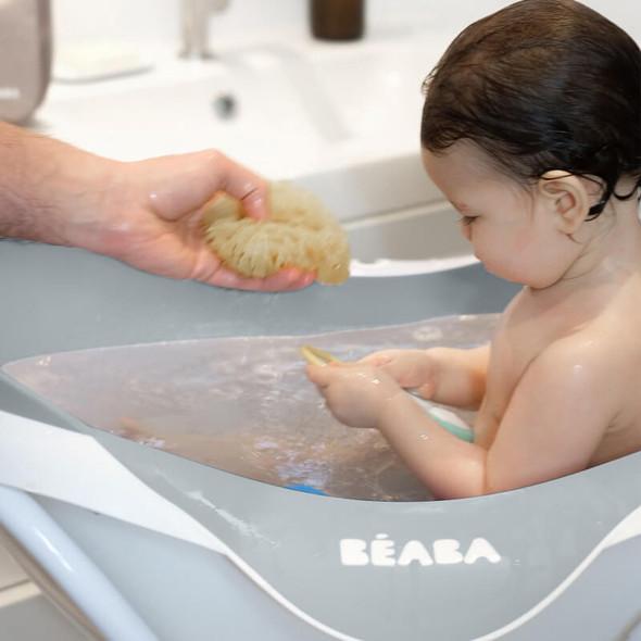 Béaba Camélé'O 1st-Stage Baby Bath - Light Grey
