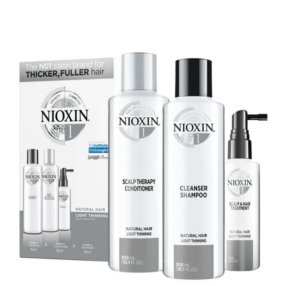 Nioxin Loyalty System Kit 1 (Normal to Thin Hair)