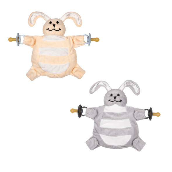Sleepytot Baby Comforter Bunny Cream/Grey