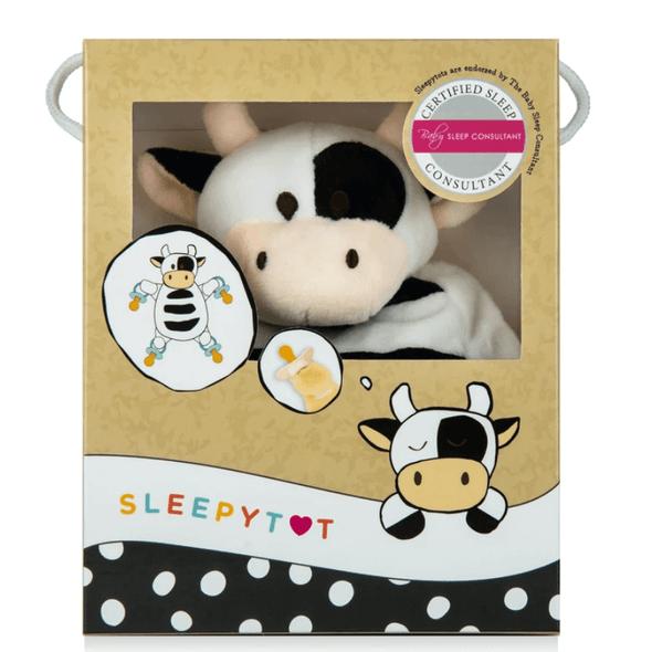 Sleepytot Baby Comforter Cow Box