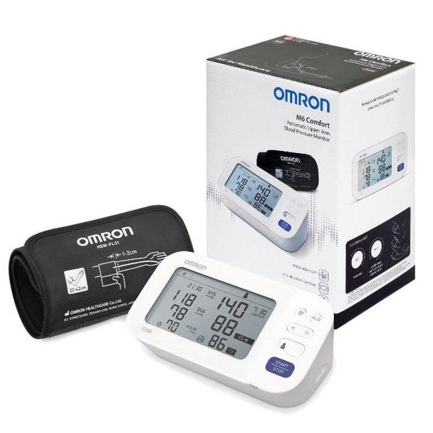 Omron M6 Comfort Automatic Upper Arm Blood Pressure Monitor