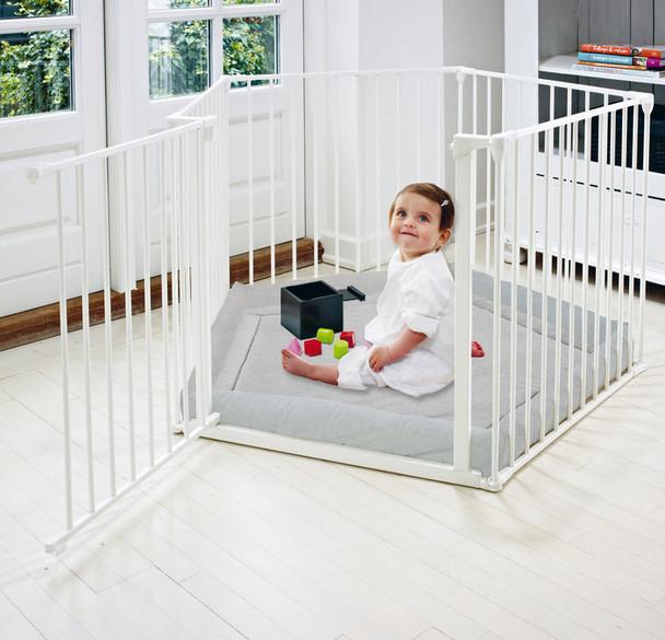 Babydan Park-A-Kid / BabyDen - White