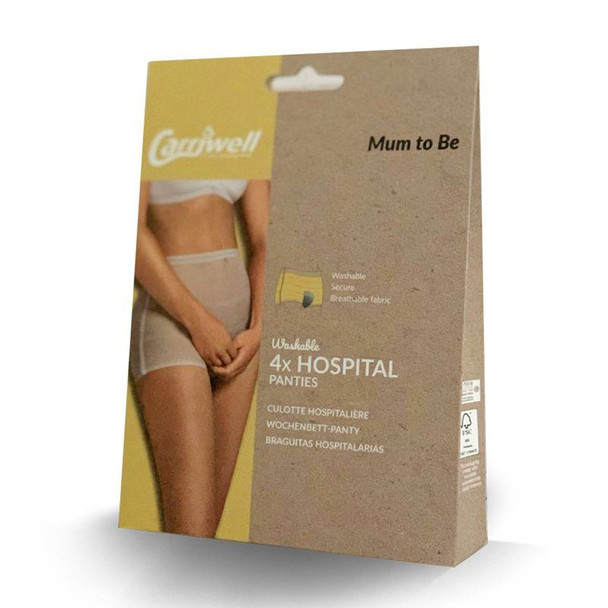 Carriwell Hospital Panties - 4 Pack - Washable box