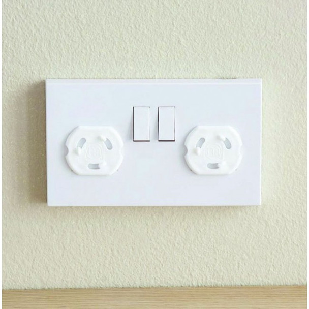 Babydan Uk & Ireland Socket Covers - 6 Pack