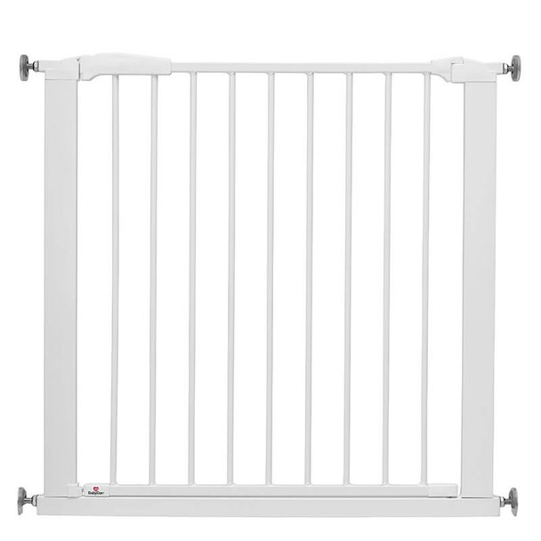 BabyDan Perfect Close Gate White