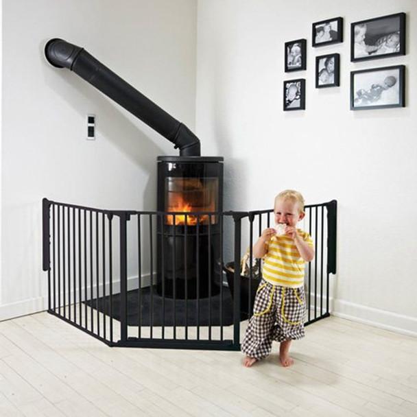 BabyDan Configure Flex Gate Large - Black (90-223 cm)