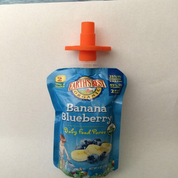 Fill 'n' Squeeze Pouch Topper (2pk)