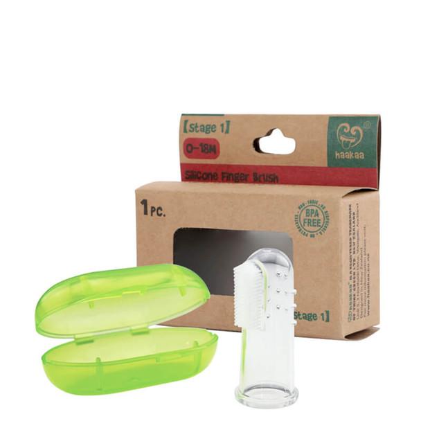 Haakaa Silicone Finger Brush Box