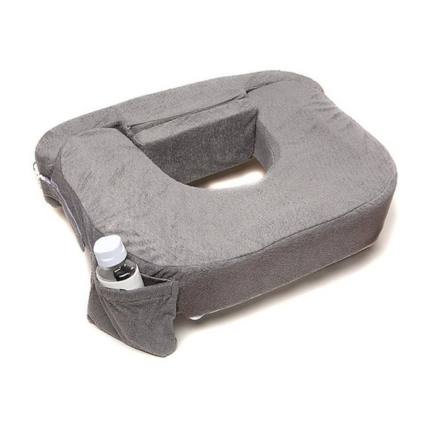 My Brest Friend Twins Pillow grey