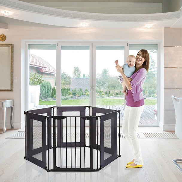 Dreambaby Brooklyn Converta Play-Pen/ Room Divider with Mesh Sides