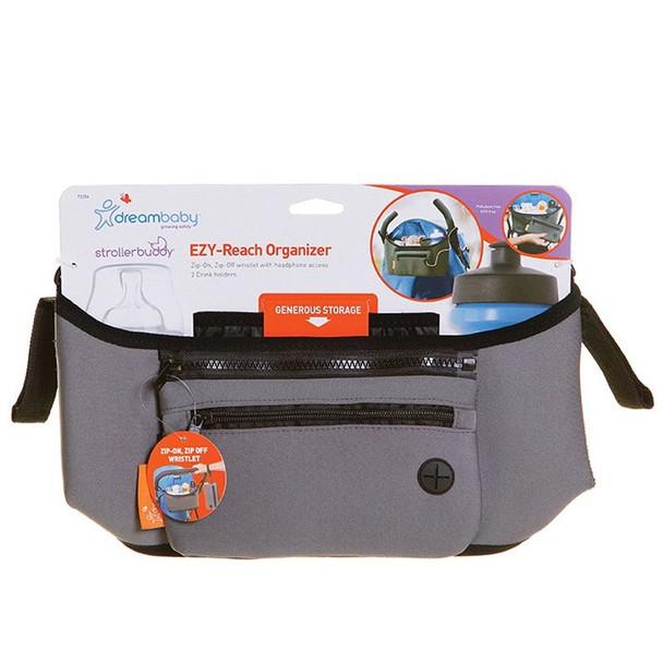 Dreambaby Stroller Buddy EZY-Reach Organizer - Grey box